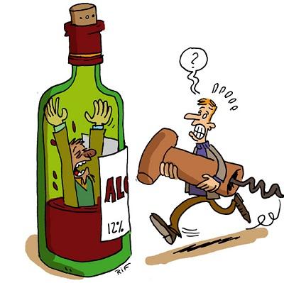 De forts complots de la ribote sur lalcool